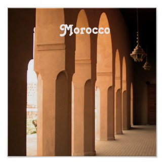 Arches in Morocco Posters
