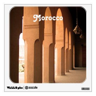 Arches in Morocco Wall Sticker