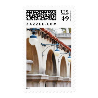 Arches Lamps Postage Stamp