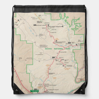 Arches map backpack