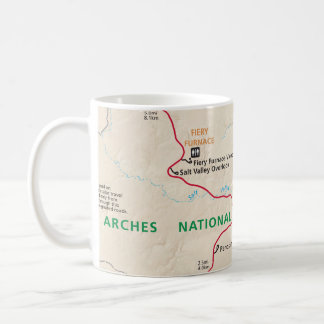 Arches map mug