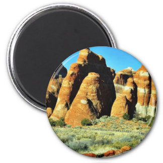 Arches National Park 2 Inch Round Magnet