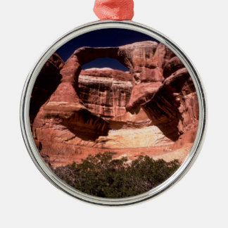 arches national park arches way up high metal ornament
