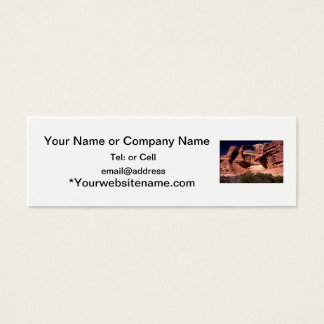 arches national park arches way up high mini business card
