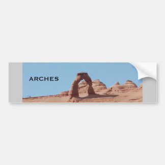 arches national park bumper sticker