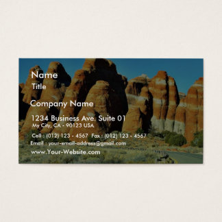 Arches National Park Business Card