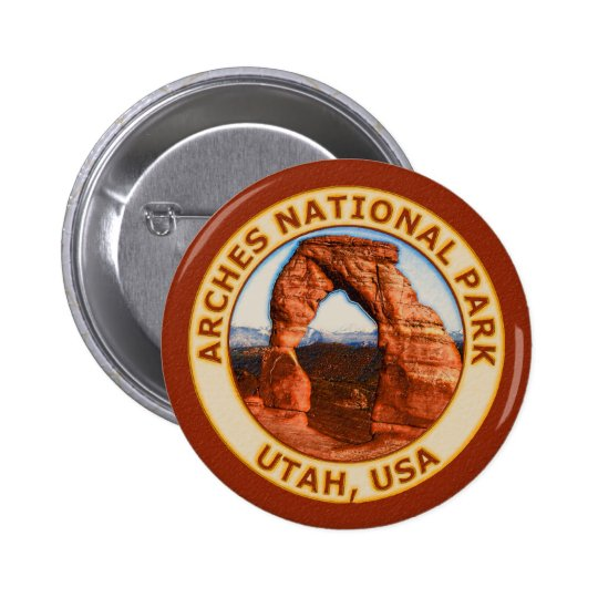 Arches National Park Button