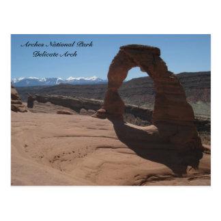 Arches National Park , Delicate Arch Postcard