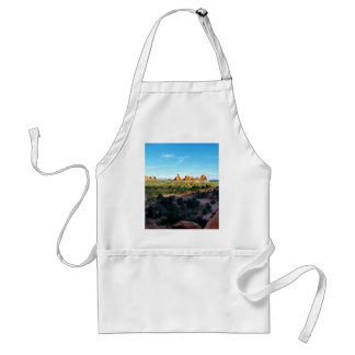 Arches National Park from a distance Adult Apron