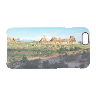 Arches National Park from a distance Clear iPhone 6/6S Case
