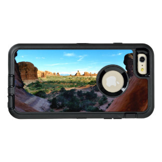 Arches National Park from a distance OtterBox Defender iPhone Case