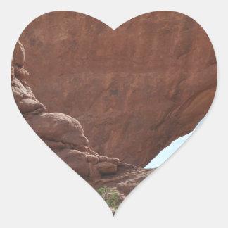 Arches National Park Heart Sticker