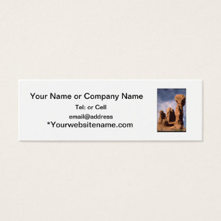 arches national park item # 88765 mini business card
