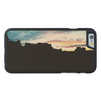 Arches National Park La Sal Mountains Viewpoint Su Carved® Maple iPhone 6 Case