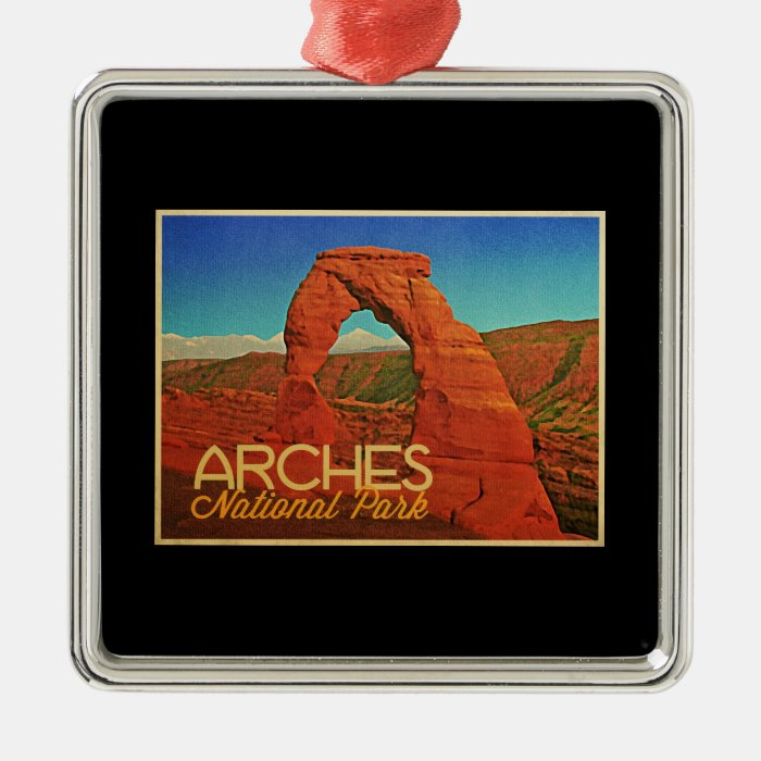 Arches National Park Metal Ornament