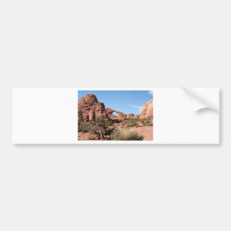 Arches National Park, near Moab, Utah, USA Bumper Sticker