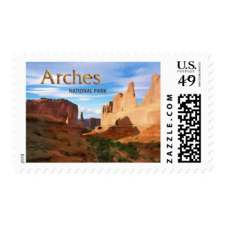 Arches National Park Postage
