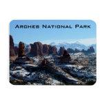 Arches National Park Rectangular Magnets