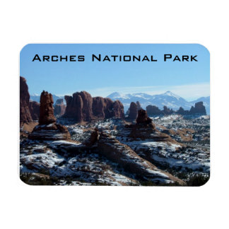 Arches National Park Rectangular Photo Magnet