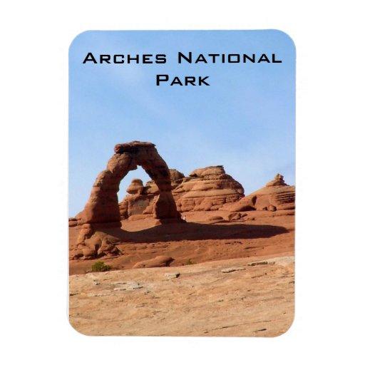 Arches National Park Rectangular Photo Magnet