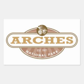 Arches National Park Rectangular Sticker