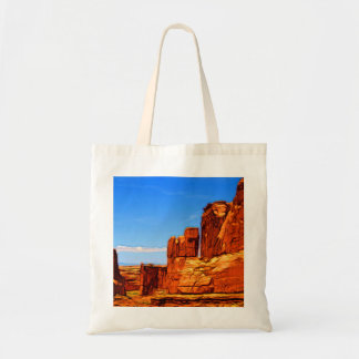 Arches National Park Rocks Tote Bag