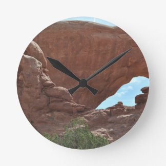 Arches National Park Round Clock