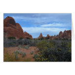Arches National Park Scene Greeting Card