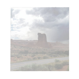 Arches National Park Sheep Rock Notepad