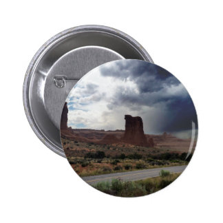 Arches National Park Sheep Rock Pinback Button