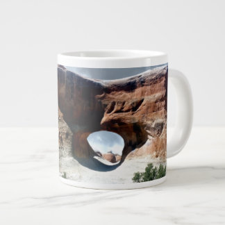 Arches National Park South window from the Back Large Coffee Mug