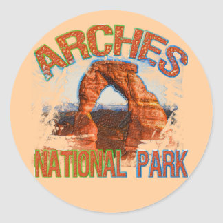 Arches National Park Stickers