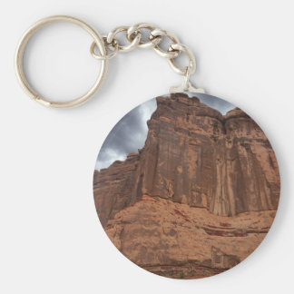 Arches National Park The Organ Basic Round Button Keychain