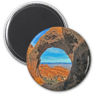 Arches National Park, Utah 2 Inch Round Magnet