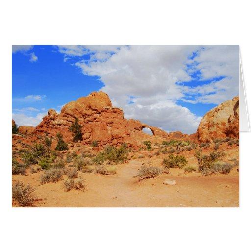 Arches National Park, Utah, Card