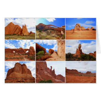 Arches National Park, Utah, Collage Card