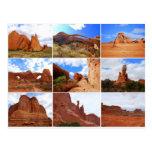 Arches National Park, Utah, Collage, Postcard