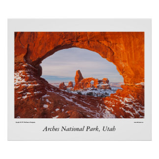 Arches National Park, Utah Poster