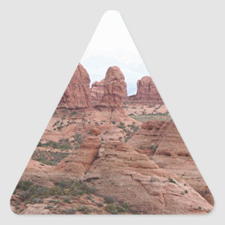 Arches National Park, Utah, USA 12 Triangle Sticker