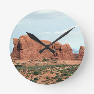 Arches National Park, Utah, USA 14 Round Clock