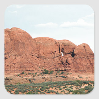 Arches National Park, Utah, USA 14 Square Sticker