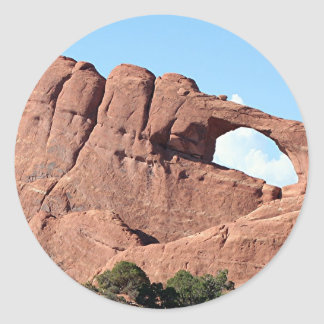 Arches National Park, Utah, USA 3 Classic Round Sticker