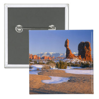 ARCHES NATIONAL PARK, UTAH. USA. Balanced Rock Pinback Button