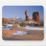 ARCHES NATIONAL PARK, UTAH. USA. Balanced Rock Mouse Pad
