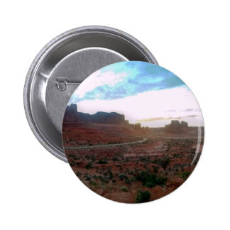 Arches National Park Viewpoint Pinback Button