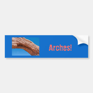 Arches Ntl Park Bumper Sticker