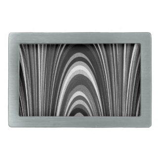 Arches of Black and White Belt Buckle