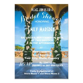 Arches of Italy Elegant Bridal Shower Invitation