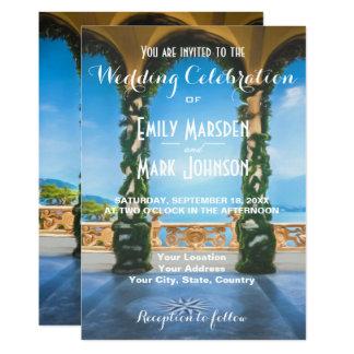 Arches of Italy Elegant Wedding Invitation