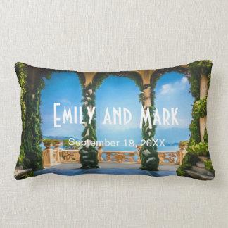 Arches of Italy Elegant Wedding Pillow
